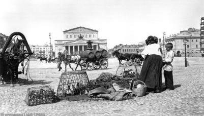 vente de volaille plsc Bolchoï theatre 1900