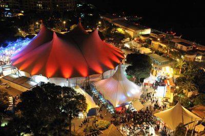 tente festival cirque monte carlo