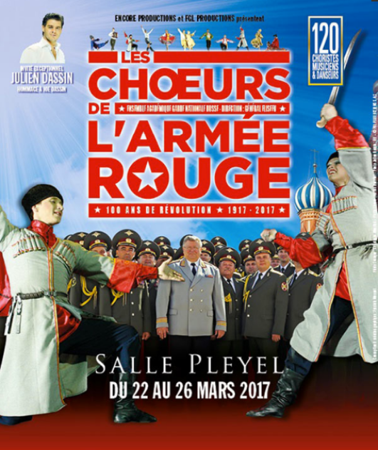 Chœur Armée rouge sal Pleyel