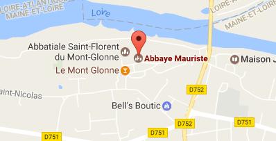 carte abbaye St Florentin