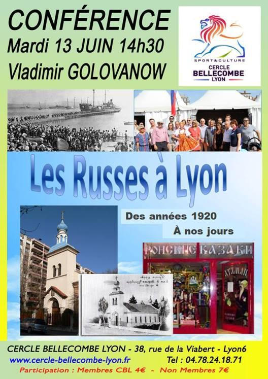 russes à Lyon