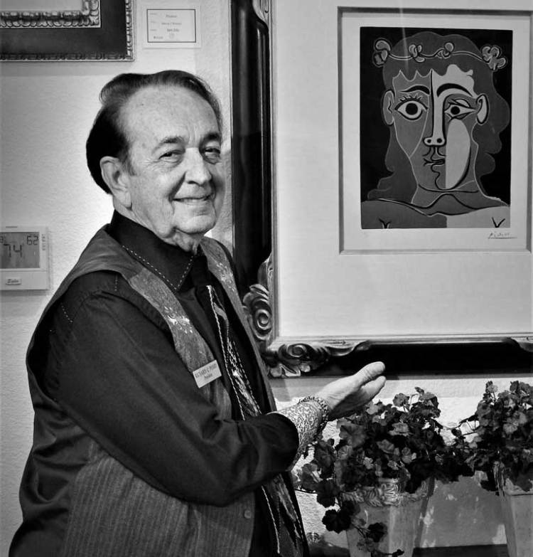 Richard Perry, owner of Centaur Gallery in Las Vegas