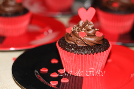 Heavenly chocolate cupcakes