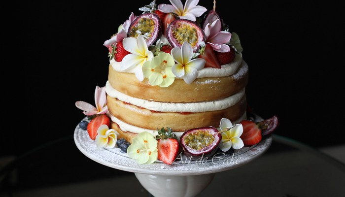 Egg-Free Layered Sponge Cake