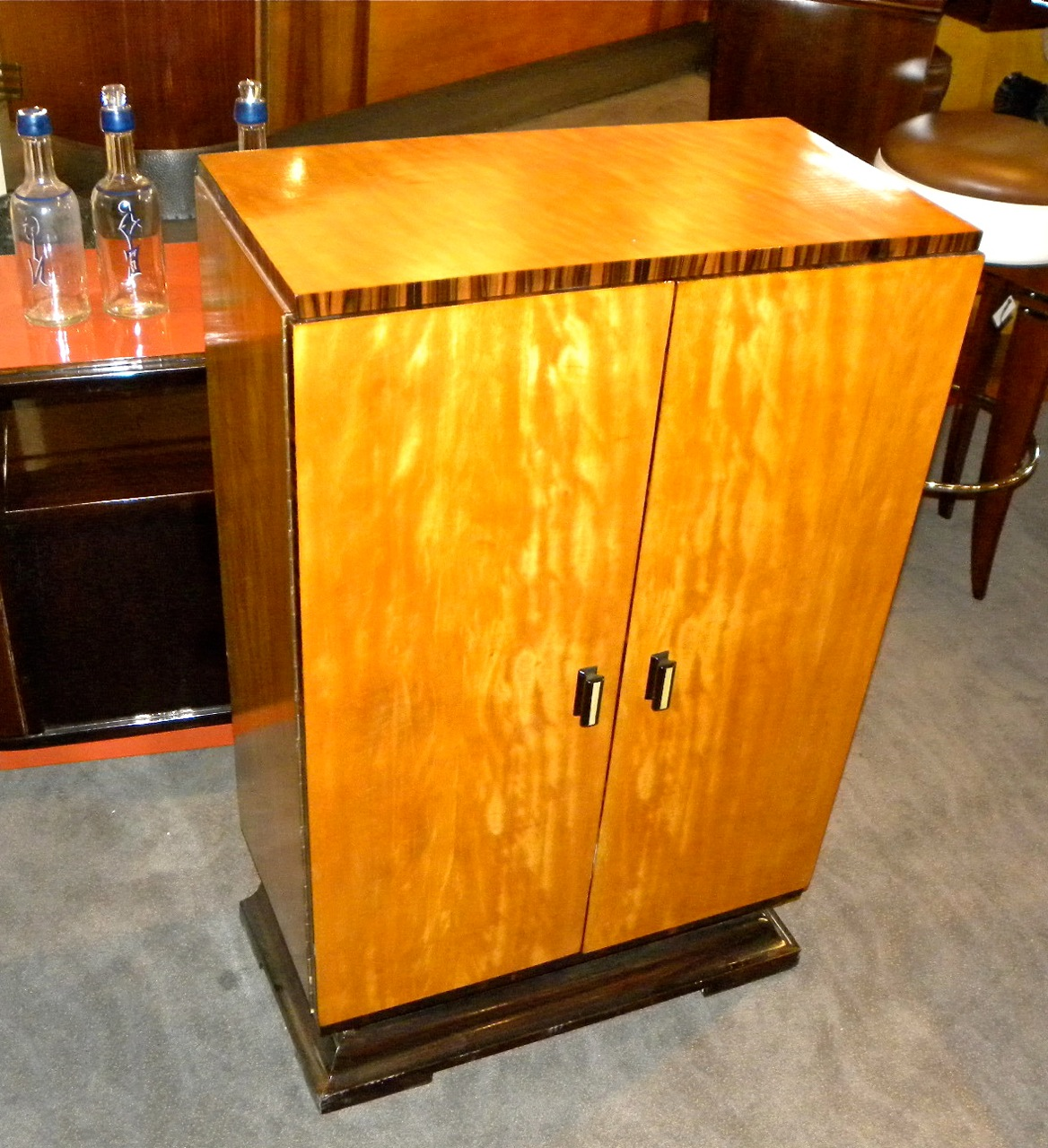 Art Deco Bar Cabinet Sold Items Dining Room Art Deco