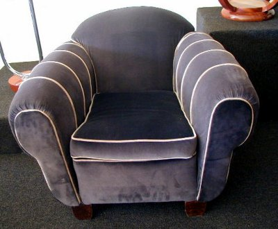 Overstuffed Club Chairs Sold Items Seating Items Art