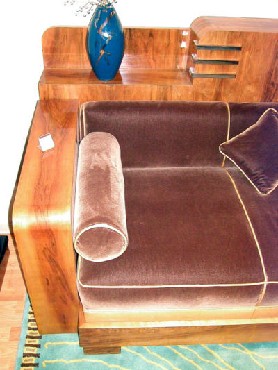 French Cozy Corner Sold Items Seating Items Art Deco Collection