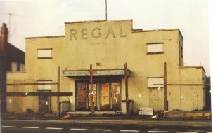 Craven Arms Regal prior to demolition