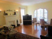 Stanley Avenue apartment living room