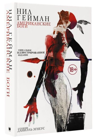 sovremennaya-zarubezhnaya-literatura - Американские боги с иллюстрациями -