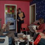 A Clockwork Orange (1971) | Alex Arrives Home After his Stay in Prison | Director Stanley Kubrick | Production Design Porn