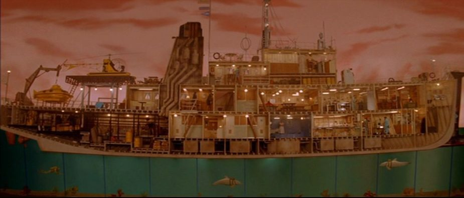 The Life Aquatic with Steve Zissou (2004) | Director Wes Anderson | Production Design Porn