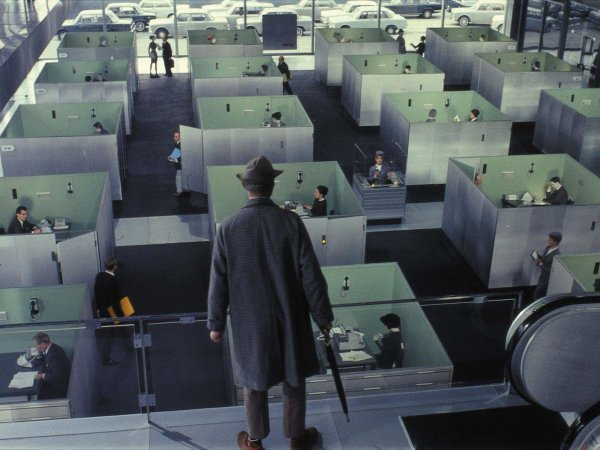 Production Design Porn | Playtime (1967)