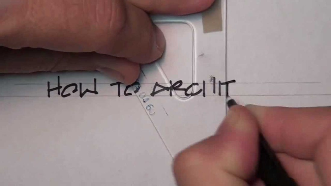 Architectural Lettering | How to Write Like an Architect | architecture letters | block letters | slanted letters | Improve Your Handwriting