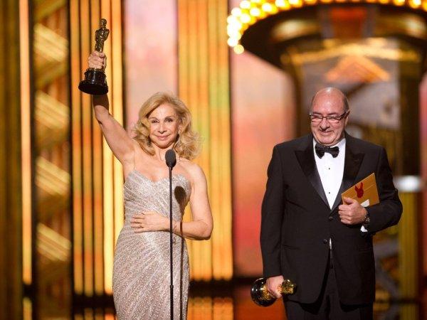Dante Ferretti's Oscar Speech