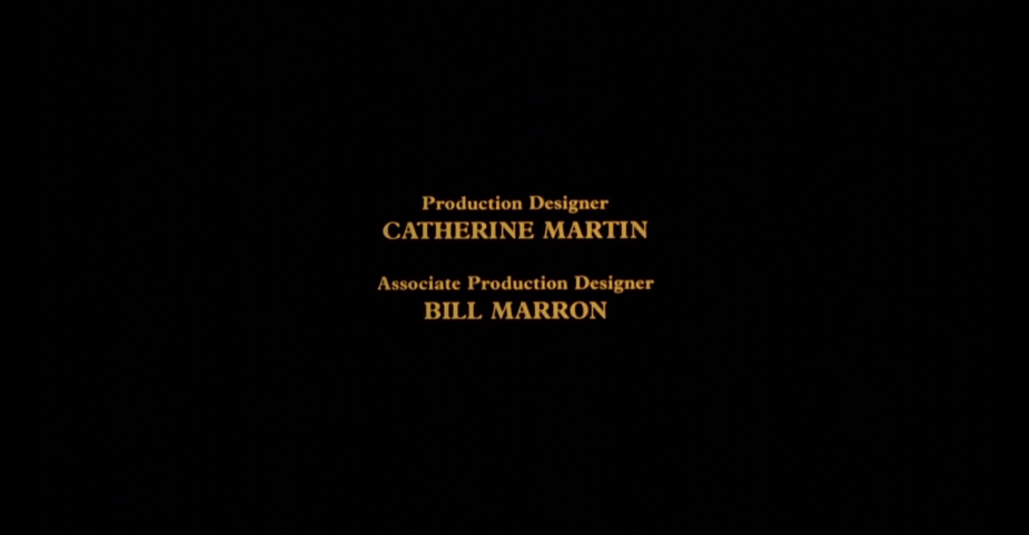 Production Designer Catherine Martin