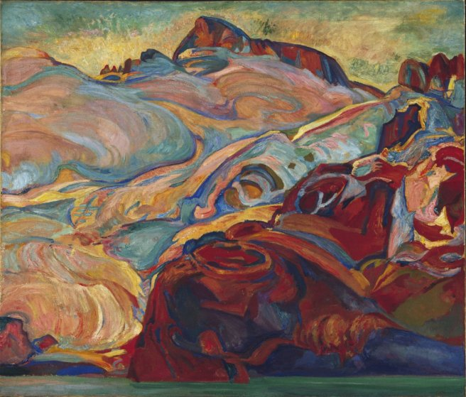 Frederick Horsman Varley, Early Morning, Sphinx Mountain, c. 1928-27