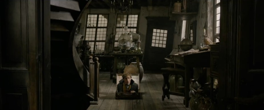 Fantastic Beasts: The Crimes of Grindelwald- 2018 Film- Interior house with trap door- Best Production Design of 2018
