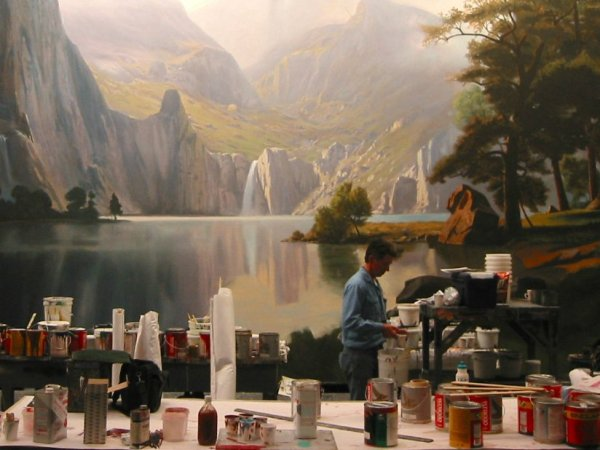 Scenic Paint Department Roles