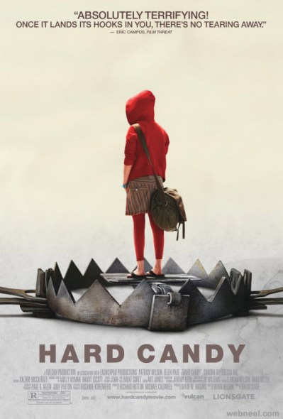 Hard Candy Movie Poster / movie poster design / movie poster artist