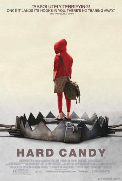 Hard Candy Movie Poster / movie poster design / movie poster artist