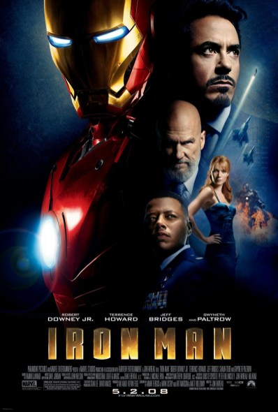 Iron Man Movie Poster / movie poster design / movie poster artist