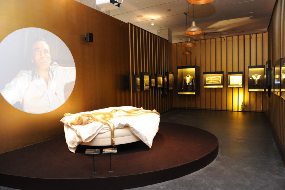 Designing 007: Fifty Years of Bond Style gold room