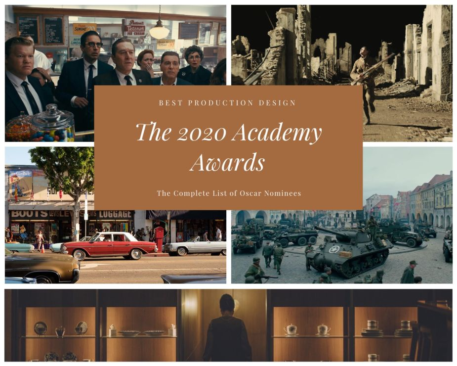 2020 Best Production Design Oscar Nominations