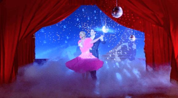 Flashback 1967- Doug & Shirley's Disco Ball Dance