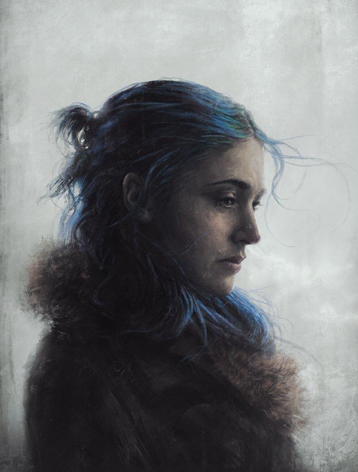 Sam Spratt Portrait Illustrations