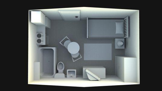 Sketchup model of Room