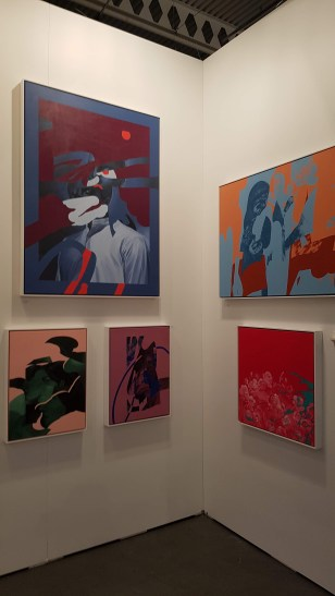 Artist Florence Solis Paintings at The Artist Project 2019