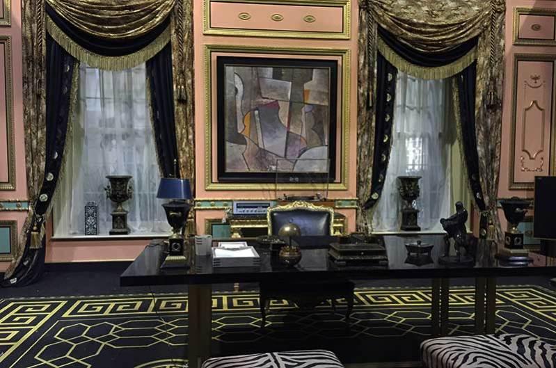 Int. John Reid's Office in Rocketman Production Design