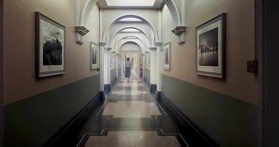 Int. Hallway Concept Rendering