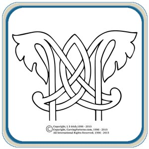 Celtic Knots One Classic Carving Patterns