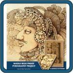 Mayan High Priest Pyrography by Lora S. Irish
