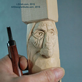 free wood carving projects by Lora Irish