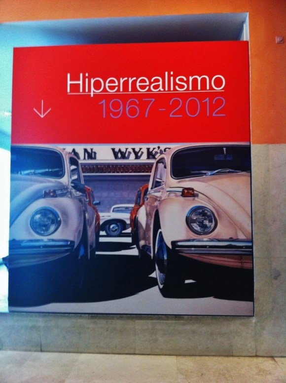Hyperralism exhibition at Thyssen Museum.