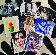 All my 19x24 cm pieces