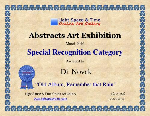 SR - Di Novak - ABSTRACTS - 2016 ART EXHIBITION - CERTIFICATE-page-001