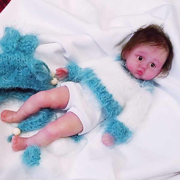 mini silicone baby doll