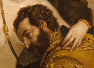 Paolo Veronese , Mars and Venus United by Love, 1570s, Detail