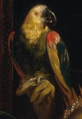 Jacob Jordaens, Cleopatra's Feast, 1653. Detail