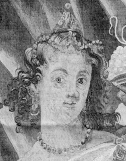 1650-77, Justus van Egmont, Cleopatra Dissolving the Pearl, Metropolitan Museum of Art. Detail