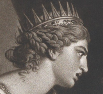 1780, Thomas Watson, The Death of Mark Antony, After Nathaniel Dance-Holland, Metropolitan Museum of Art, New York. Detail