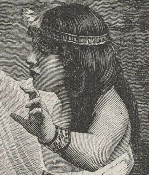 "1890, Robert François Richard Brend'amour, A Concert at Cleopatra's, from ""L'Illustration Européenne"", Metropolitan Museum of Art, New York. Detail"