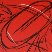Crucifixion, 55x60 cm, acryl, canvas
