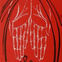 Humility, 60x55 cm, acryl, canvas