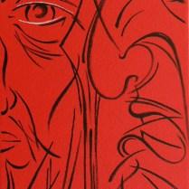 Captive, 60x55 cm, acryl, canvas