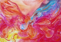 Chapel master, 50x70cm, Acryl, canvas